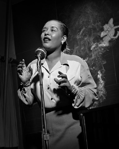 Billie Holiday (photo: Herman Leonard Photography LLC)
